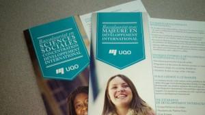 UQO bacc en développement international